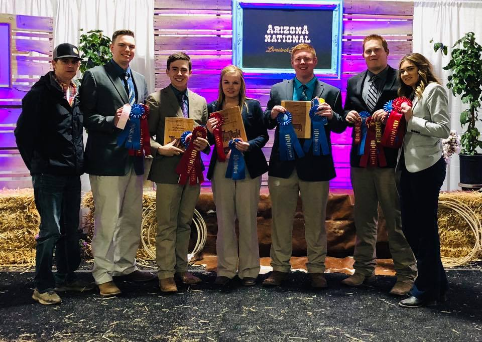 Murray State Livestock Judging Team brings home top national honors