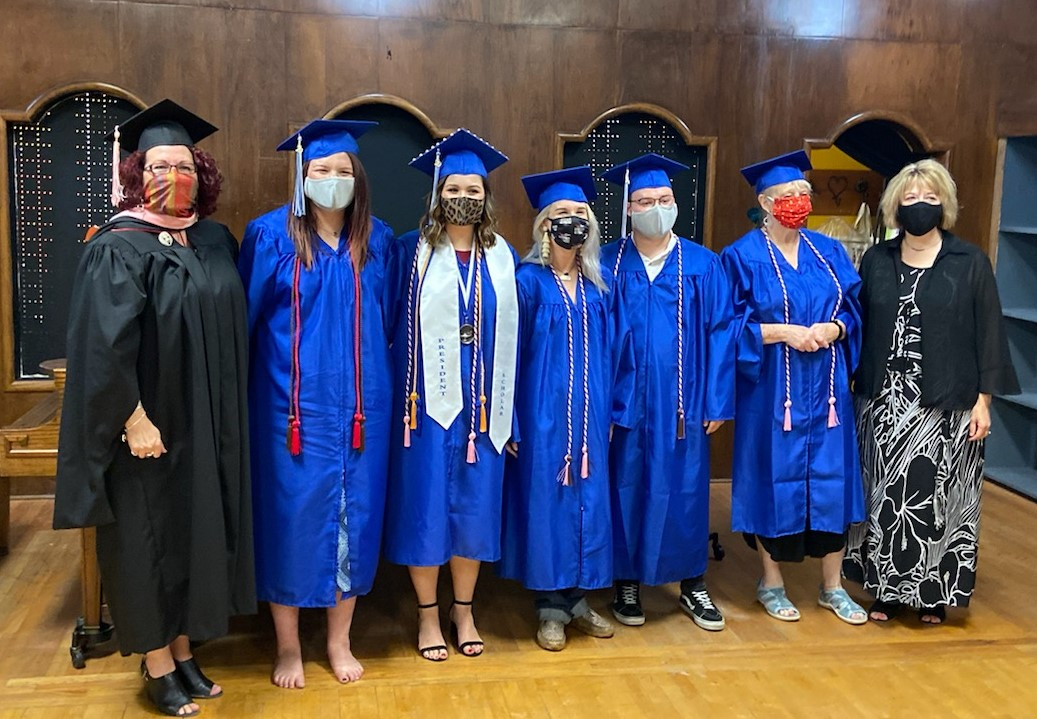 MSC Communication and Performance Studies 2020 Graduates Participate in Cord Ceremony