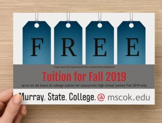 High school juniors offered tuition-free courses through Murray State College