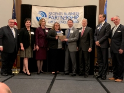 Murray State College, BancFirst presented with business partnership award