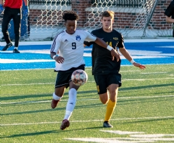 Murray State College men's soccer team qualifies for NJCAA Region II Playoffs for first time, played Rose State Saturday