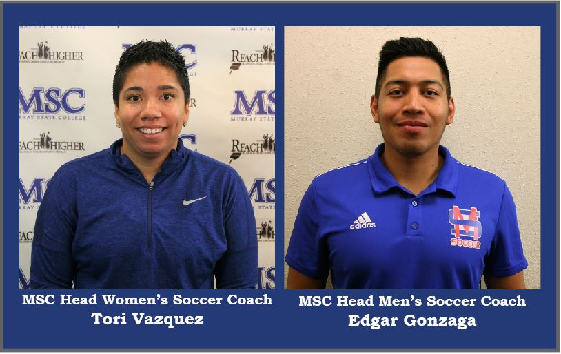 Murray State College announces hiring of men's and women's head soccer coaches